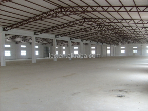 Prefab Light Steel Space Frame Roof Cover for Industrial Building