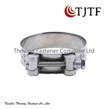 T bolt automotive stainless steel hose clamp of hydraulic hose clamp machine