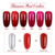 6 colors titanium mirror metallic gel nail polish
