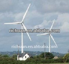 Richuan various kind wind generator 10kw 20kw 30kw Horizaontal axis Wind Turbine Generator