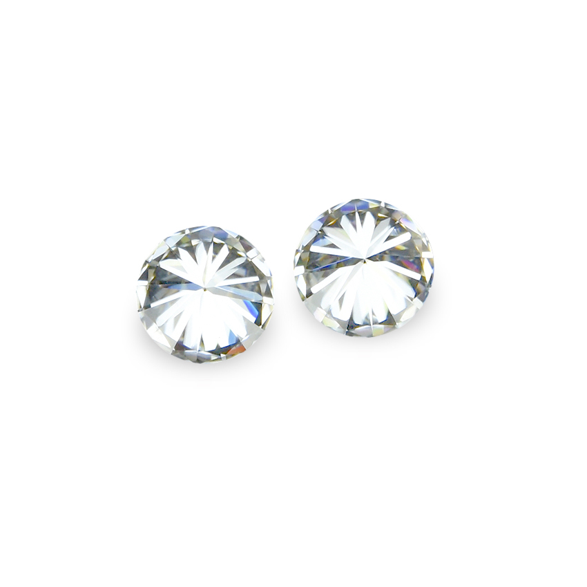 Round brilliant cut 1mm to 15mm white synthetic loose moissanite <strong>stone</strong> with factory wholesale price