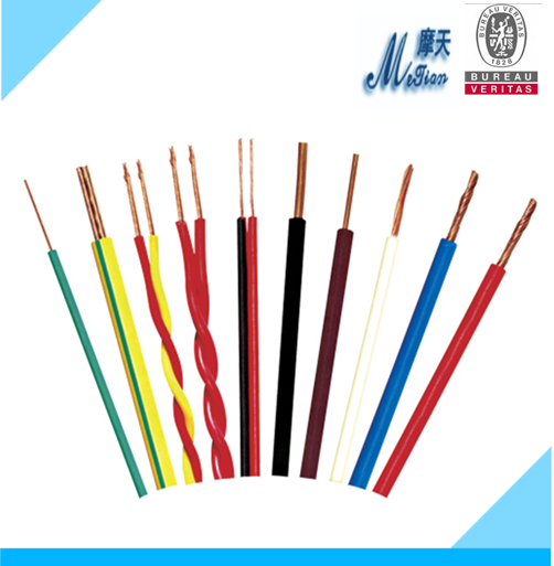 Conductor cover flexible electric wires Single core ultra thin flexible electrical wires