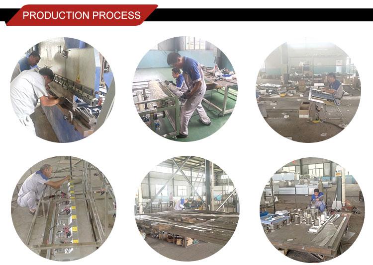 Línea de producción automática de fideos instantáneos nueva condición