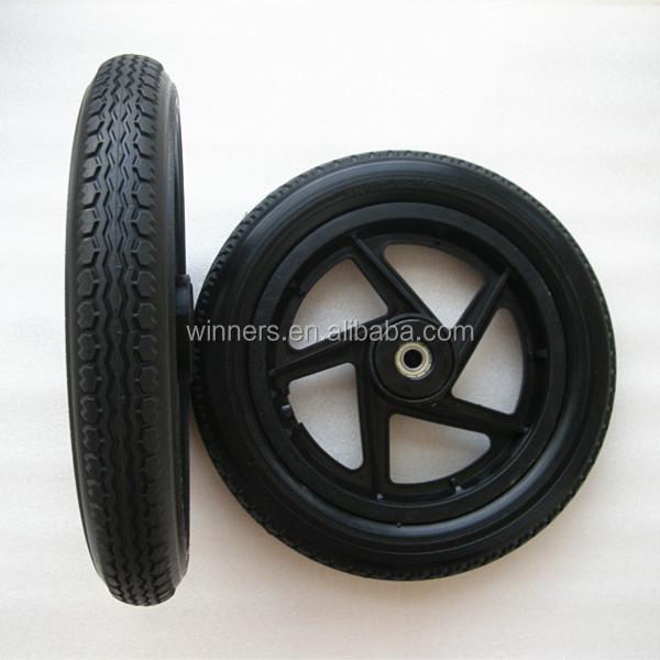 12x1 75 Plastic Spoke Solid Pu Foam Balance Wheel Buy