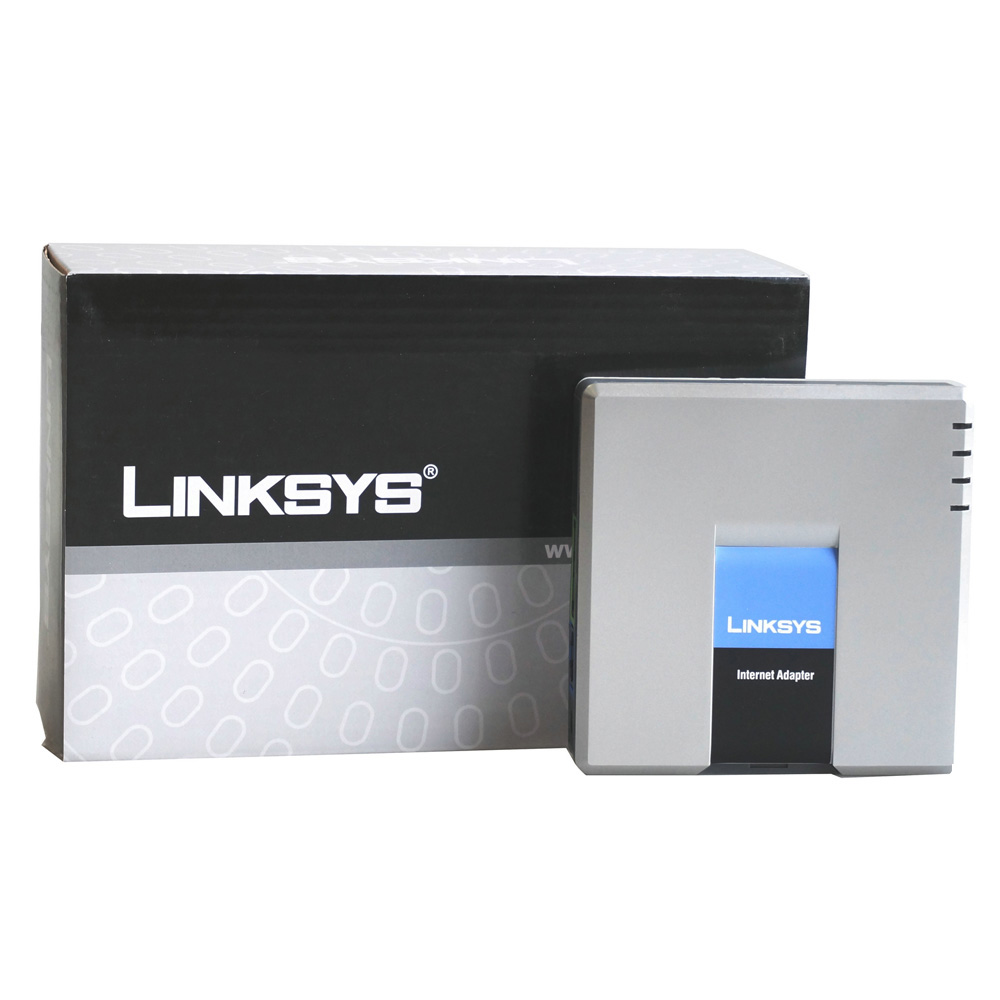 SIP VOIP Adapter Linksys PAP2T 2 Network Unlocked with New price