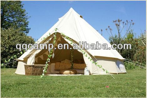 Wonderbaar 4m/5m/6m Glamping Bell Tent Cotton Tipi Tent - Buy Bell Tent TY-67