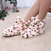 Plush Shaft Winter Warm Bedroom Slippers