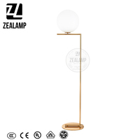 Flos IC Floor Light ZLC008F Hand Blown Glass Floor Lamp