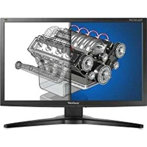 "ViewSonic VP2765-LED 27"" Wide AMVA LED Monitor with Full High Definition Resolution & DisplayPort, DVI, & VGA Inputs"