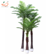 plastic artificial fake palm coconut tree decoration tree for home garden