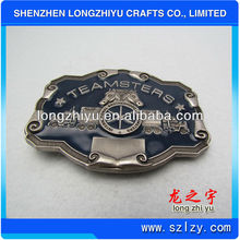 2013 New military belt buckles brass with custom logo fashion design