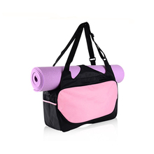 Multifunctionele Grote Tote Yoga Gym <span class=keywords><strong>Mat</strong></span> <span class=keywords><strong>Tas</strong></span> Canvas