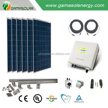 Bluesun Best Price And Hot Sale Solar On Grid System 1kw