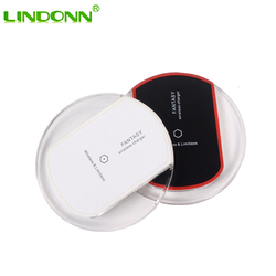 Hot selling Qi wireless charging pad for mobile phone iphone samsung fast wireless charger