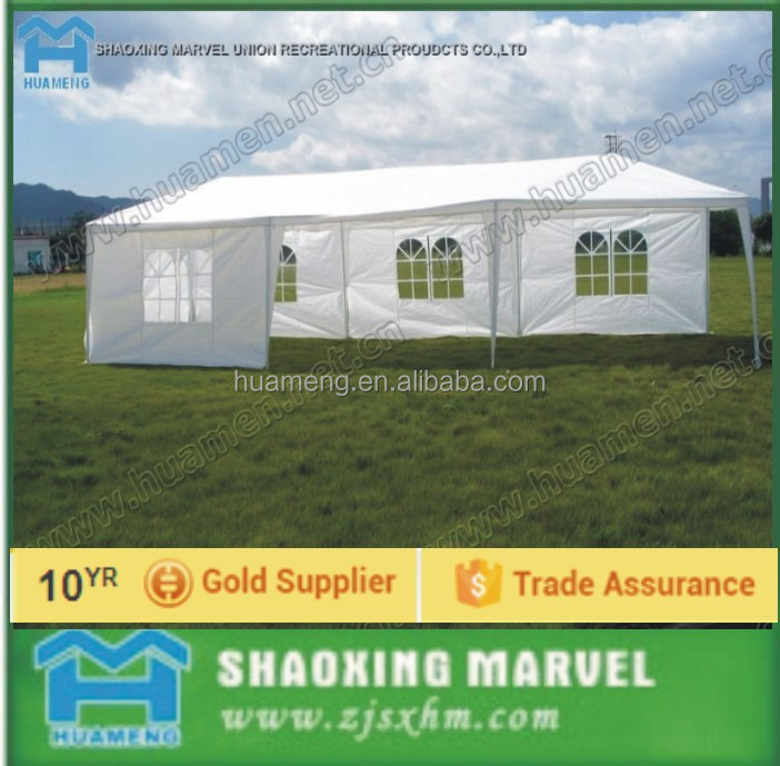 3*6 PE garden wedding tent with gazebo with party tent