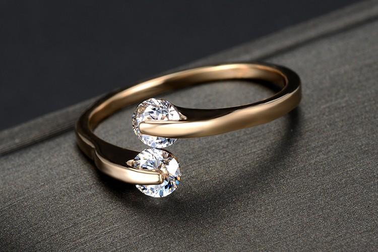 Wholesale 2015 Crystal Zircon dubai gold ring models western ...