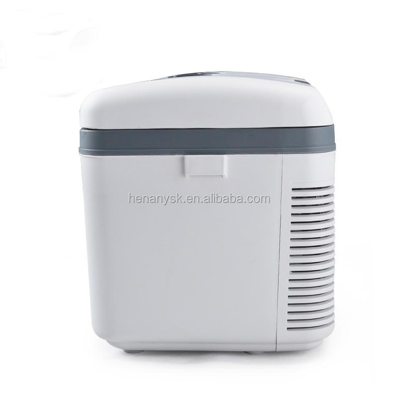 19L Semiconductor Car Refrigerator Double Freezing Mini Fridge Dual Use Of Car Household
