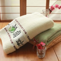 Wholesale High quality 27x54 Quality Pure 100% bleach proof salon Customized 100 Bamboo Fiber Bath Towel Set