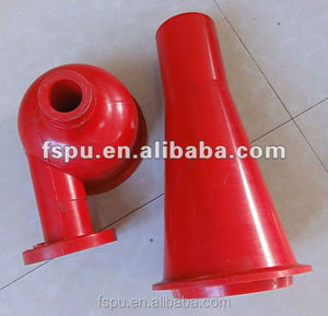 Extrude Polyurethane Hydrocyclone for mining equipment PU rubber parts