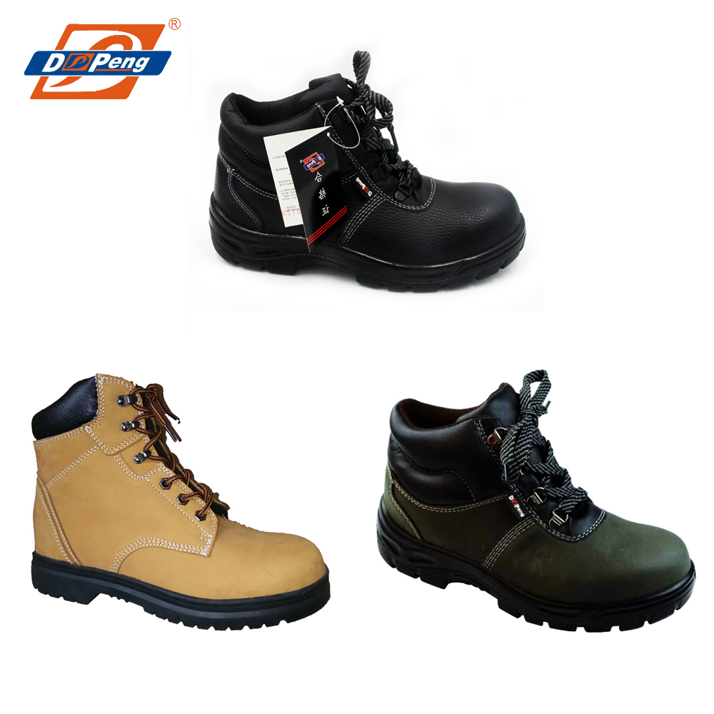 hot sale genuine leather outdoor work boots,mining industrial safety shoes
