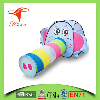 Kids play tunnel tent /Elephant kids pop up tent / Cartoon toy Tent  sc 1 st  Shaoxing City Hite Leisure Products Co. Ltd. - Alibaba : tunnel tent for kids - memphite.com