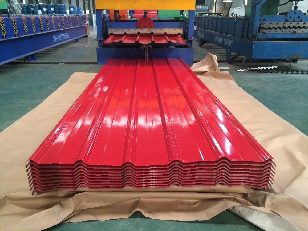 Malawi Iron Galvanized Roofing Corrugated Zinc Roof Sheet