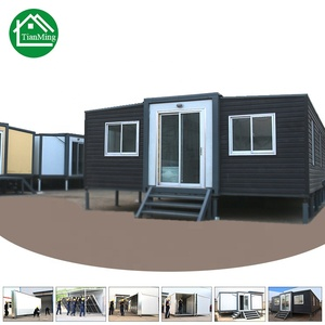Factory direct supply movable Prefabricated Expandable foldable container houses for living