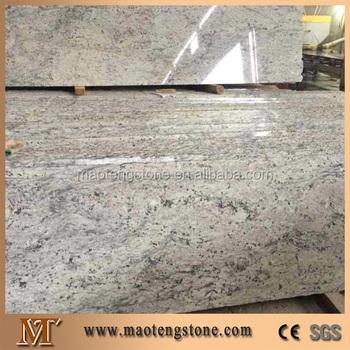 Chinese Polished Granite Slab River White Price