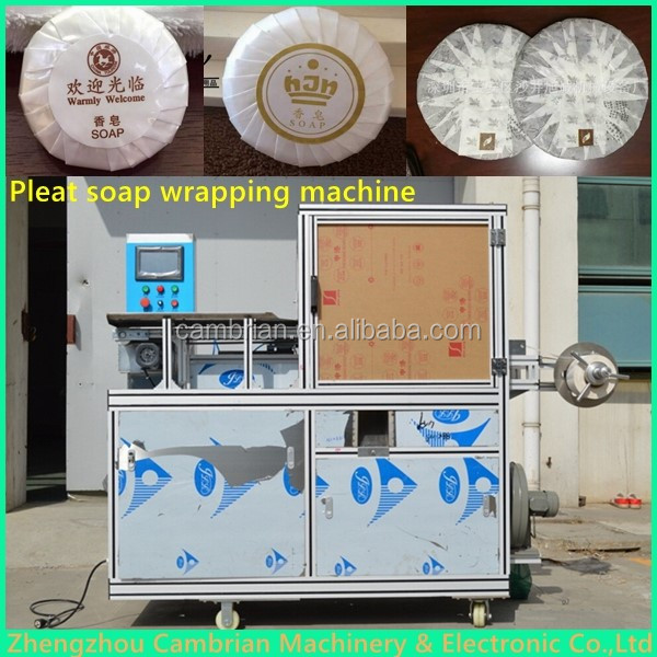automatic soap pleated packing machine (3)