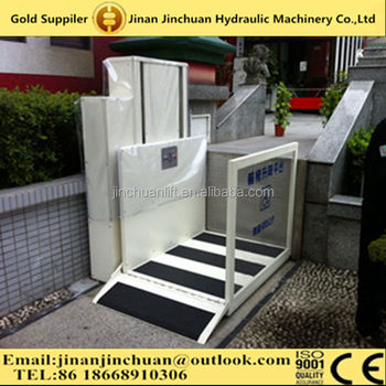 Wheelchair Home Elevator Lifts / Handicapped Wheelchair Lift For ...