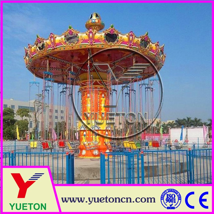 Zhengzhou Yueton Used Amusement Park Ride Big Swing Flying Chair
