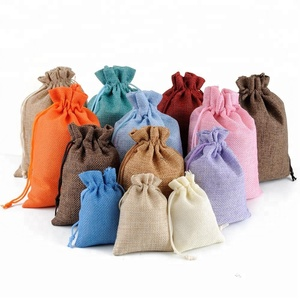 Wholesale Cheaper Fancy Jute Bag Use Packaging Cocoa Beans