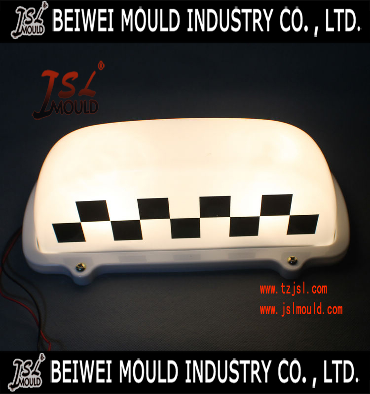 Customized taxi Lamp Housing Mould