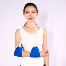 Medical orthopedic colored cotton / neoprene arm support brace sling with belt
