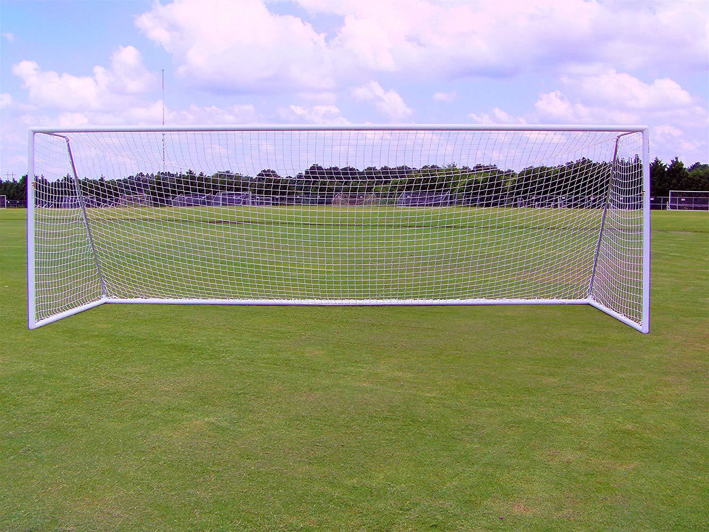 4ab2eee10 Get Quotations · Pevo Park Series 8x24 Soccer Goal | Aluminum Soccer Goals