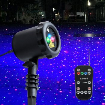 star projector landscape spotlight outdoor laser christmas light for tree house garden