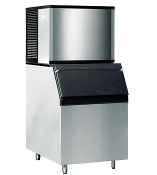Ice O Matic Cube Ice Cube Maker and Storage Bin 400kg Ice Capacity Bar Cafe
