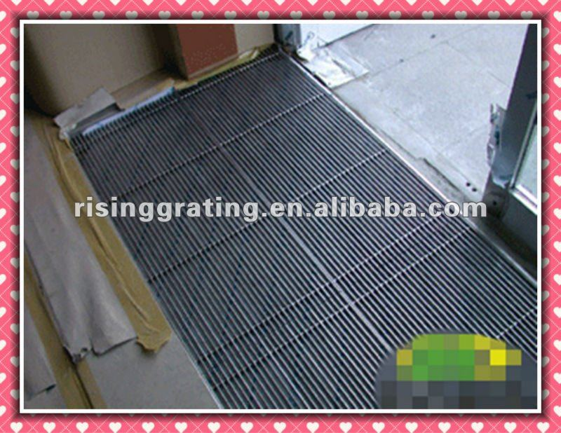 stainless steel grating floor ditch