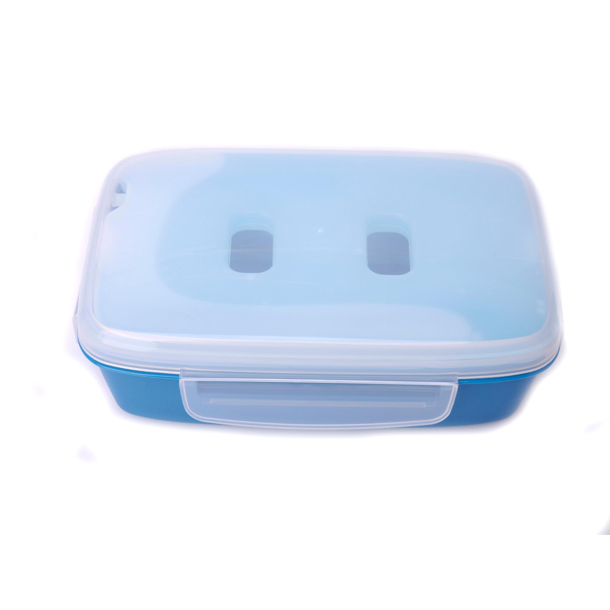 fresh-care Plastic Lunch box with ice pack
