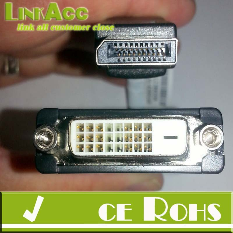 Linkacc-5R Display Port Single-Link DVI-D Monitor Cable FRU# 43N9159