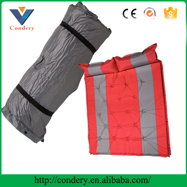 Super quality paypal accept self inflating sleeping pad