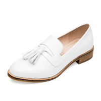 Hot Selling White Casual Flat Women Shoes China Factory High Quality Ladies Flat Shoes