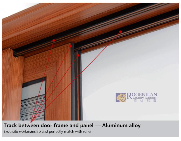 Rogenilan 120 4 Panel Sliding Bedroom Aluminum Window And