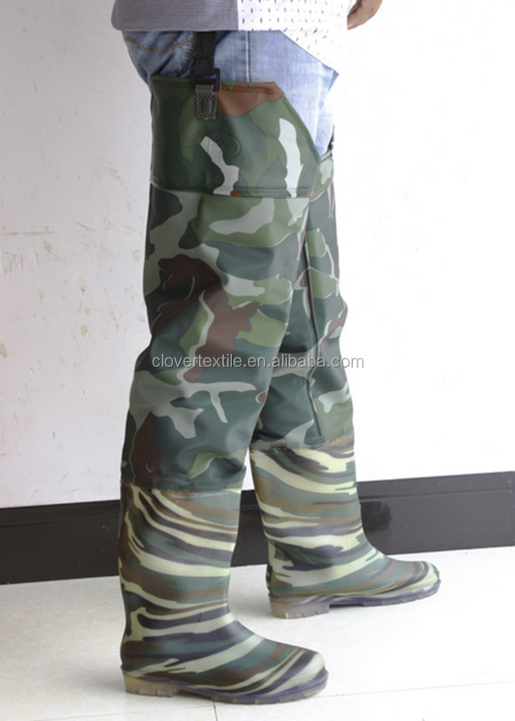Custom Camouflage Duck Hunting Waders Pants Hip Fishing Waders
