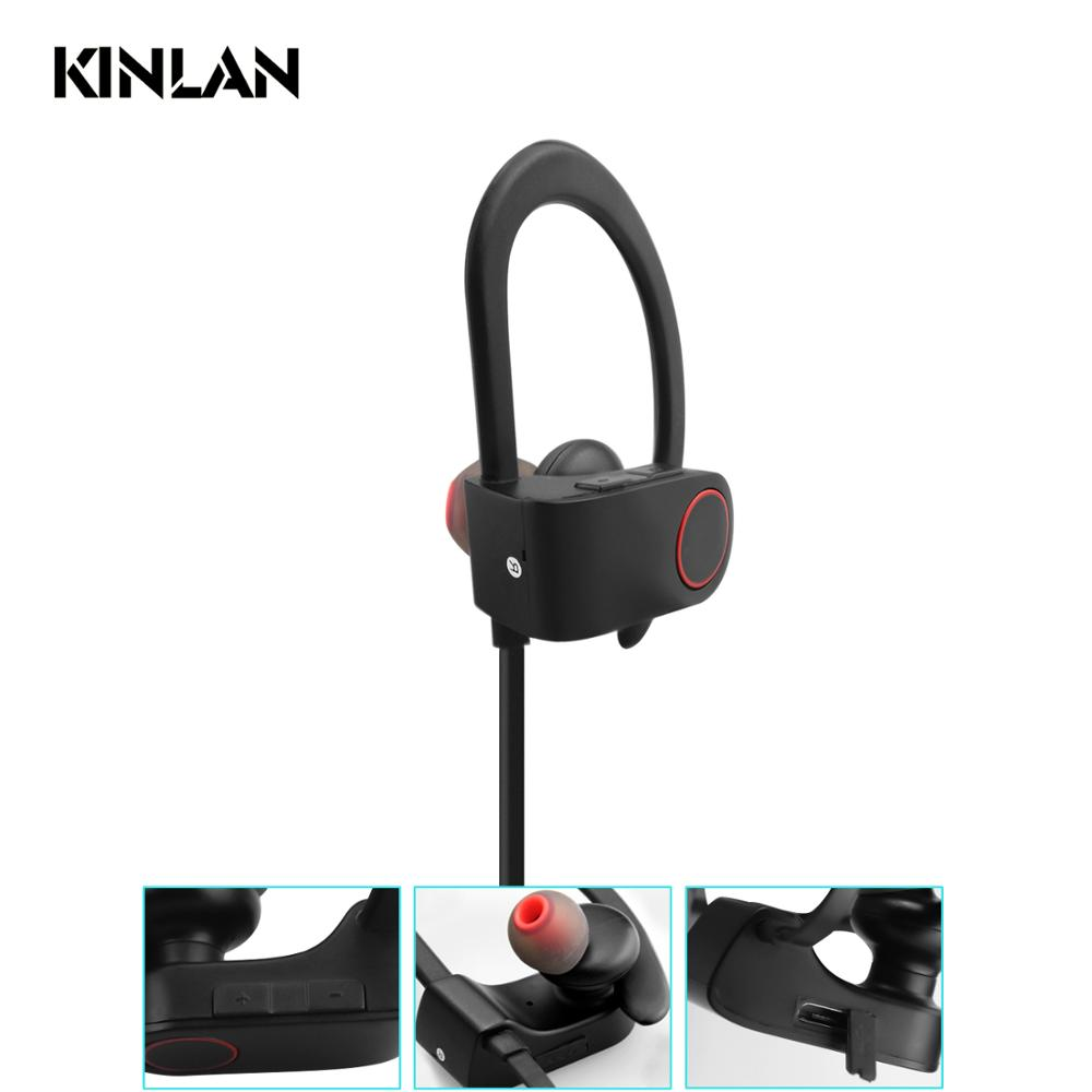 2018 Hot selling BT Headset Sport CSR chipset Earphones In-ear Headphone