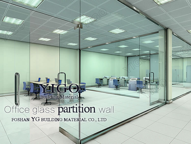 Hot Sale Modern Office Partition Glass Wall