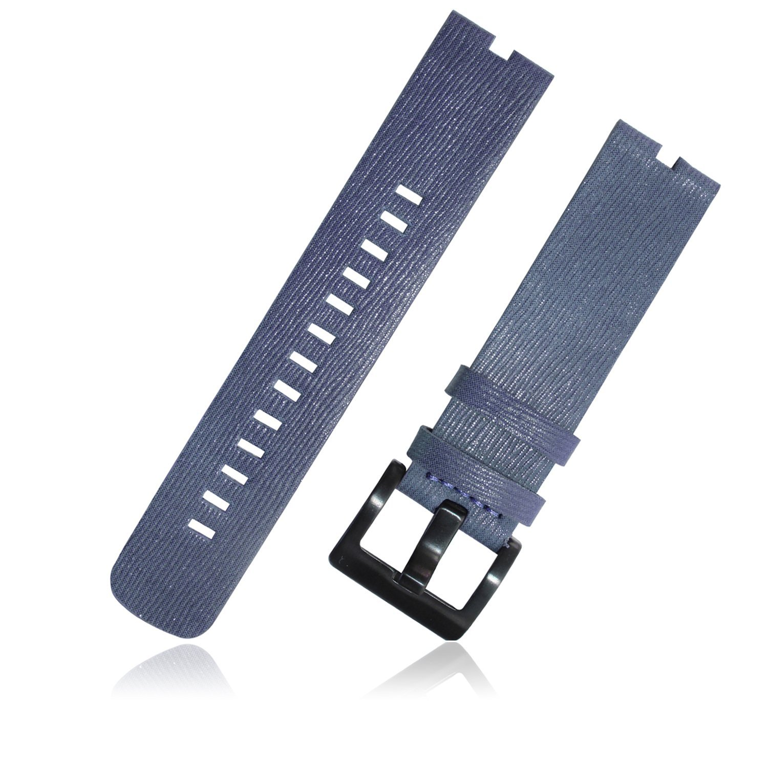 Buy Nogis Leather Watch Band Wristband Watchband Strap For Motorola Moto Smart Black 360 Moto360 Dark