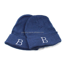 Fashionable design custom knitted beanie hat for winter