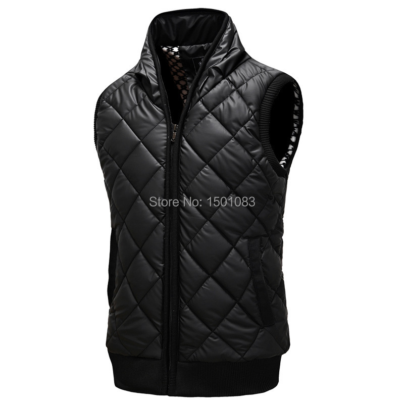 On Sale! New Autumn and Winter Gilet Men Padded Vest Warm ...