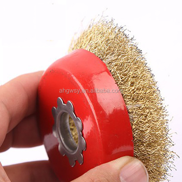 Bowl Wire Brush Steel Metal Polishing Derust Wheel Brush